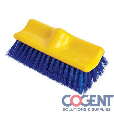 "10"" Deck/floor Scrub Brush BLUE Bi-Level       633700"