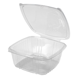 Deli Container 64oz Clear H/L 200/cs                  AD64