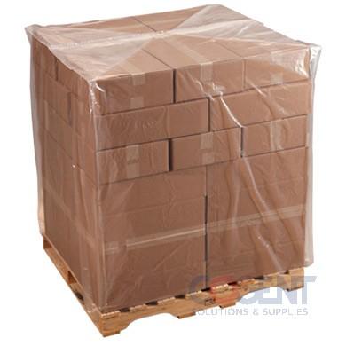 Pallet Cover 51x49x73x 1.5mil Clear FDA Hexene 52/rl 30rl/plt