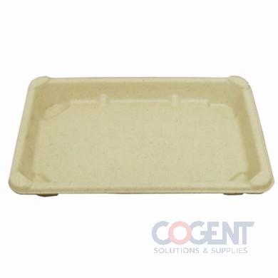 Sushi Tray 7.28x5.28x9 Nat #4 Med Compost 800/cs BGST4    BGN