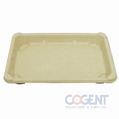 Sushi Tray Lid 7.68x5.47x1.65 #4 Md Clr PET 800/cs BGST4L BGN