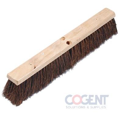 "24"" Hardwood Block Palmyra Push Broom ESS"