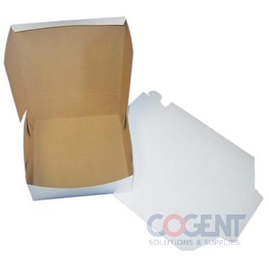 Bakery Box White No Window 6-1/4x3-3/4x2-1/8 LC     250/cs