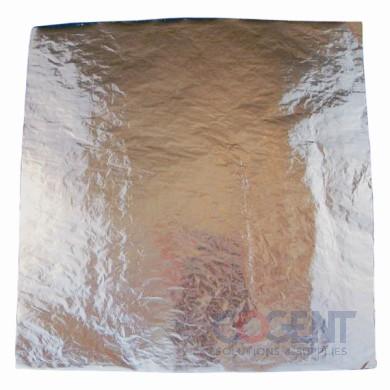 Laminated Sandwich Wrap 13x10.5 Foil/Paper Honeycomb 4/500/cs