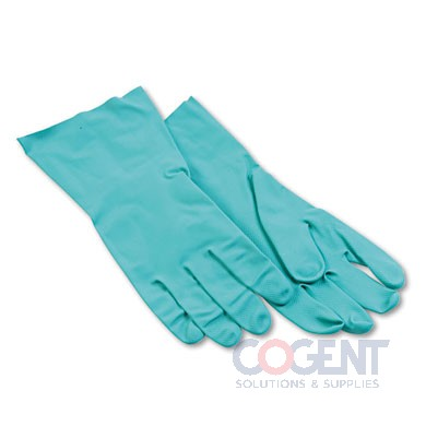 "Glove Nitrile Lrg.13"" 15mil Grn Chem Res. 1/dz 12dz/cs 183L ESS"