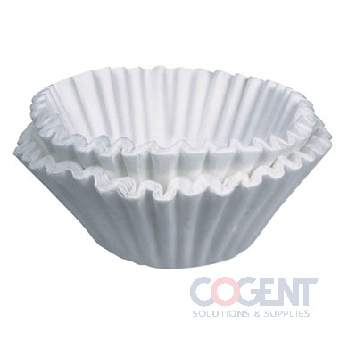 "Coffee Filter 12 cup White 4-1/2"" dia.   1m/cs 20115.0000"