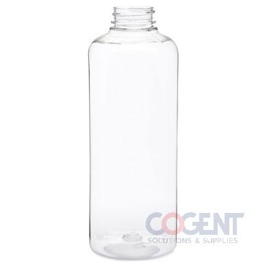 Bottle 32oz Square PET Clear 38mm 80/cs 16cs/plt 255355  BER
