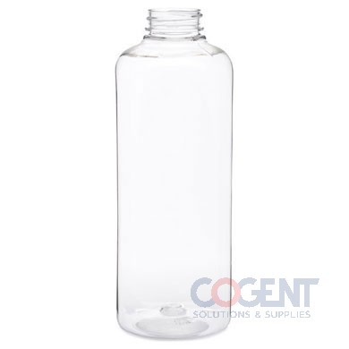 Bottle 64oz Square PET Clear 38mm 40/cs 16cs/plt  255356 BER