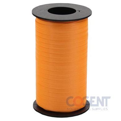 "Ribbon Curling Splend 3/8"" Trop Orange 250yd/rl 12/cs #311"