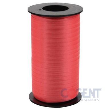 "Ribbon Curling Splend 3/8"" Red 250yd/rl 12/cs         #313"