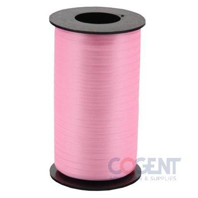 "Ribbon Curling Splend 3/8"" Azalea Pink 250yd/rl 12/cs #327"