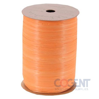 Matte Wraphia 100yd/rl Orange          12rl/cs 7490035
