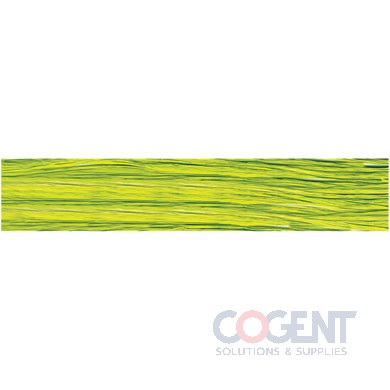 Matte Wraphia 100yd/rl Chartreuse      12rl/cs 7490044