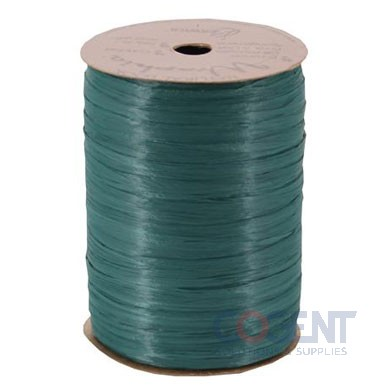 Matte Wraphia 100yd/rl Hunter Green    12rl/cs 7490064