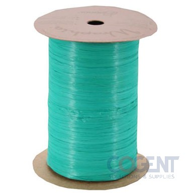Matte Wraphia 100yd/rl Kelly Green     12rl/cs 7490096