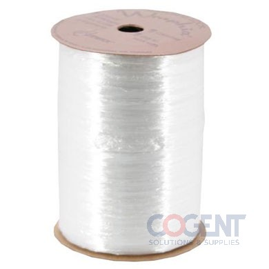 Pearlized Wraphia 100yd/rl White           12rl/cs 7500001
