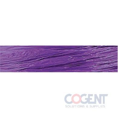 Pearlized Wraphia 100yd/rl Purple          12rl/cs 7500009
