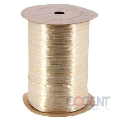Pearlized Wraphia 100yd/rl Oatmeal         12rl/cs 7500024