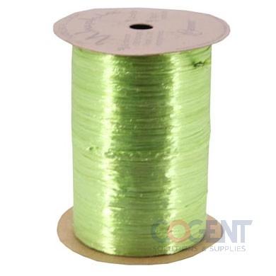 Pearlized Wraphia 100yd/rl Chartreuse      12rl/cs 7500044