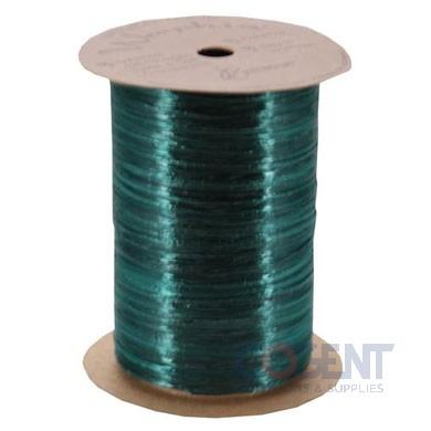 Pearlized Wraphia 100yd/rl Hunter Green    12rl/cs 7500064