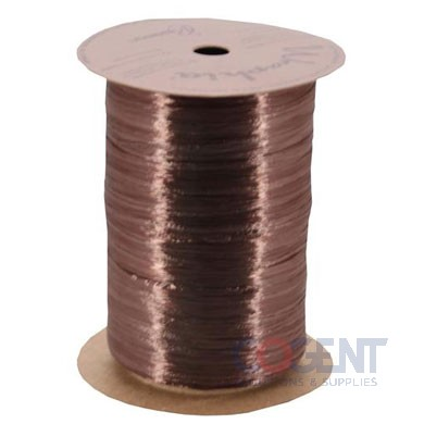 Pearlized Wraphia 100yd/rl Chocolate       12rl/cs 7500081
