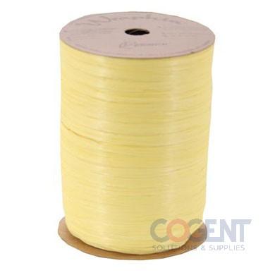Matte Paper Wraphia 100yd/rl Daffodil 7660065        12rl/cs