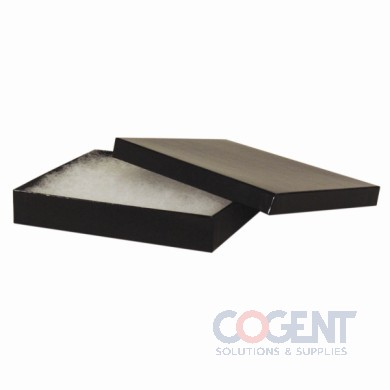 Jewelry Box Black Gloss 3.5x3.5x1 w/Ctn  100/cs      33