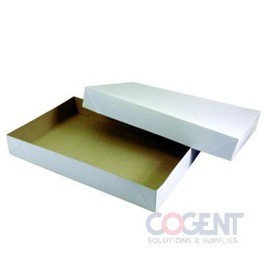 Apparel Box White Frost 15x9.5x2   2Pc 100/cs       615