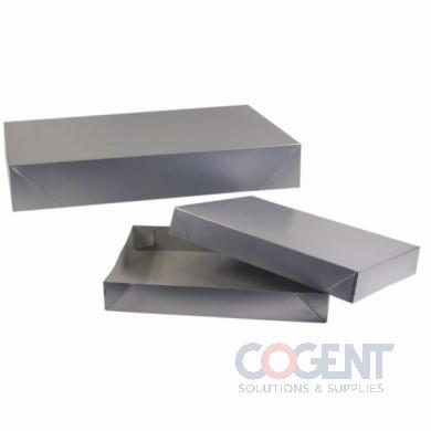 Apparel Box Silver Gloss 24x14x4 2Pc 25/cs           624