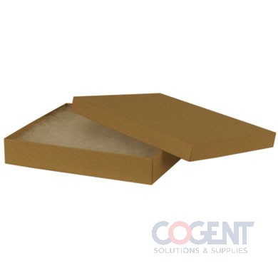 Jewelry Box Natural Kraft 6x5x1 w/Ctn 50/cs            65