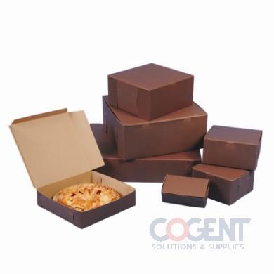 Bakery Cupcake Box Cocoa No Wdw 8x4x4 LC 4C-R 2C-J  .018 200/cs