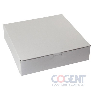 Bakery Box WHITE No Wdw 9x9x4 LC            .020 200/cs