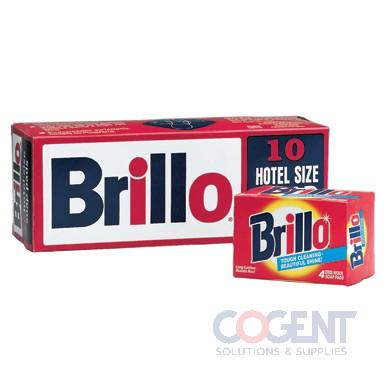 Brillo Hotel Soap Pads 10/box 4x3in ESS