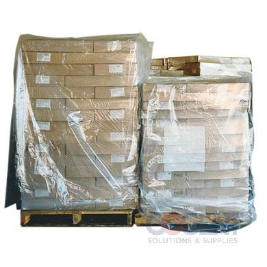 Pallet Cover 51x49x73x 2mil Clear Non-FDA  50/rl  36rl/plt