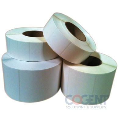 "Label Direct Thermal 4x4 White Perf 1""Core 640/rl 6rl/cs"