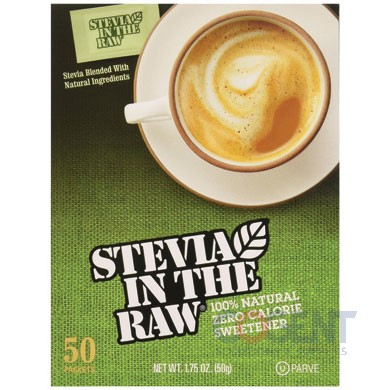 Stevia Sweetener Packets .035oz 100% Natural  200/bx  2bx/cs