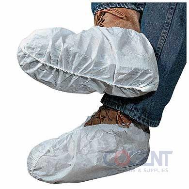 Shoe Covers White Polypro X-Large 300/cs    DSCW-300-XL