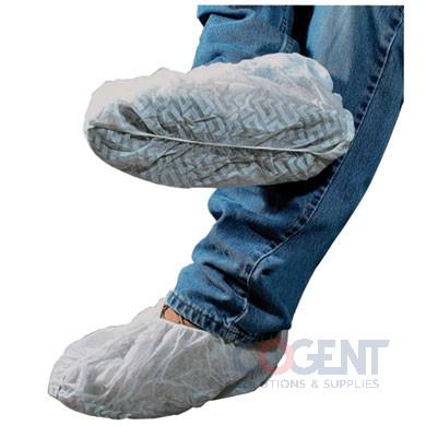 Shoe Covers Blue Skid Resist LG 300/cs DSCL-300E         SAF