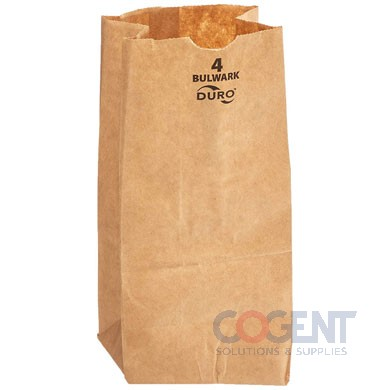 Bag Grocery #12 XHD Nat Kraft 7.06x4.25x13.75 57# 400/bl