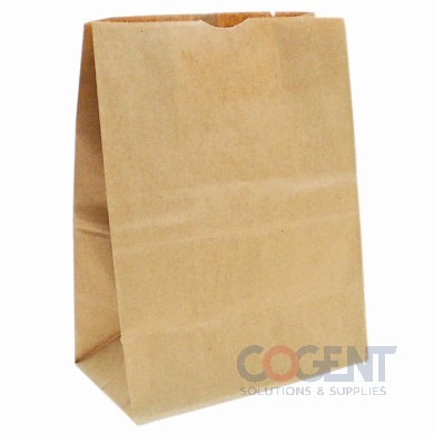 Bag Grocery 1/7 BBL Sack Nat Kraft 13x7x14 66# 500/bl 81265