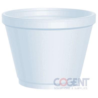 Container Food 12oz White Foam 500/cs  12SJ20               DT