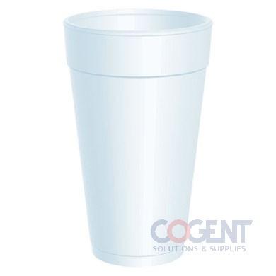 Cup Drink 20oz Tall White Foam   500/cs   20J16
