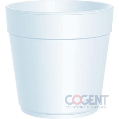 Container Food 32oz Squat White Foam   500/cs