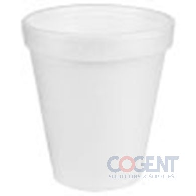 Cup Foam White 8oz 1m/cs