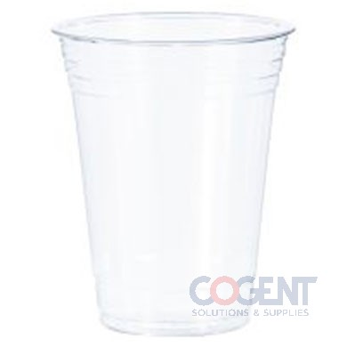 Cold Cup 16oz Clear Plastic PETE 1m/cs          TP16D