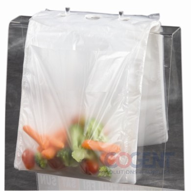 Portion Bag 6.5x7 19oz Clear Saddle-Pack 2m/cs
