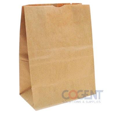 Bag Grocery Sack 1/6 Nat Kraft 12x7x17 57# 500/bl