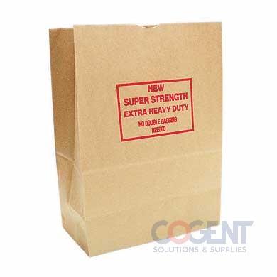 Grocery Bag 1/6 BBL Kraft 76# 12x7x17 Sack 400/bl 80080  *DUR