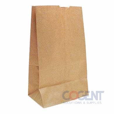Bag Grocery 1/8 Tall Nat Kraft 9.75x6.25x16.375 52# 500/bl