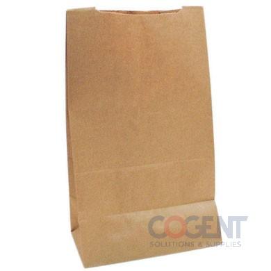 Grocery Bag 1/8 BBL Kraft 57# 9.75x6.25x16.5 500/bl 81187 DUR